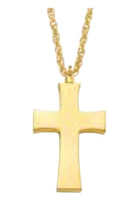 Medium Cross (IP Plated)